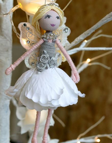 Flower Fairy Ornament Sylvie